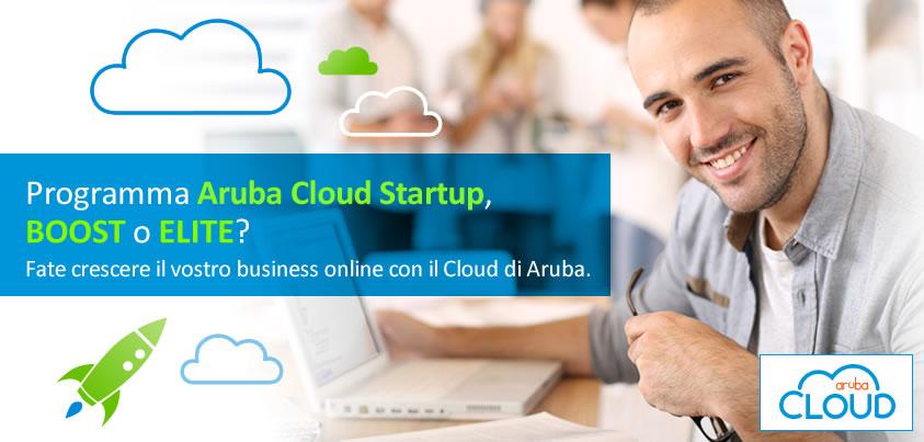 Aruba Cloud Startup: 75mila euro di credito cloud gratuitoAruba Cloud Startup: 75mila euro di credito cloud gratuito