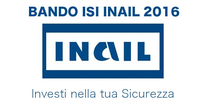 Bando ISI INAIL 2016 2017
